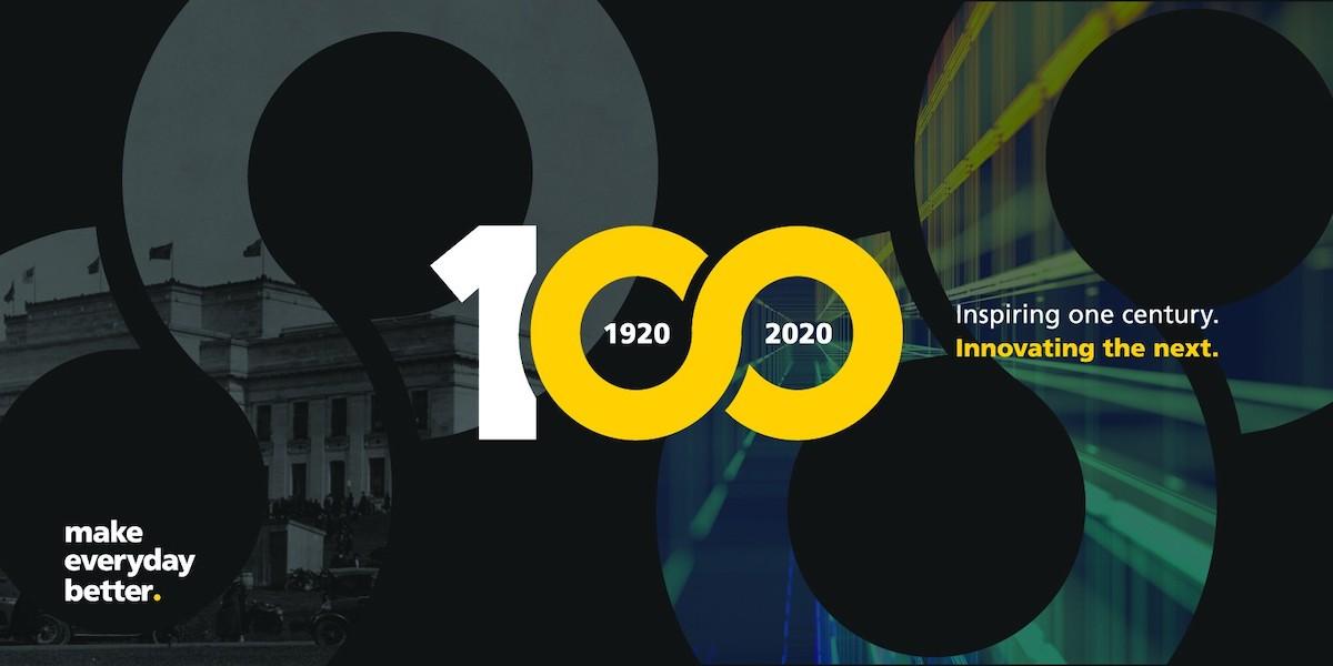 Beca Group 100 Year Logo